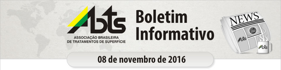 ABTS - Boletim Informativo - 08 de novembro de 2016