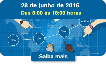 3º Curso de CQI - Continuous Quality Improvement 11 / 12 - 28 de junho de 2016 das 08:00 às 18:00 horas