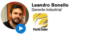 Depoimento - Leandro Bonello - Perfil Color