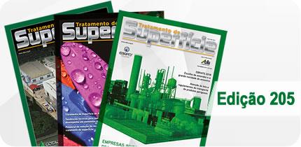 Revista Tratamento de Superfície - Edição 205