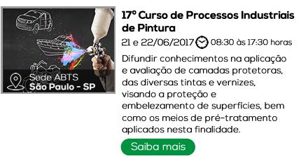 17º Curso de Processos Industriais de Pintura