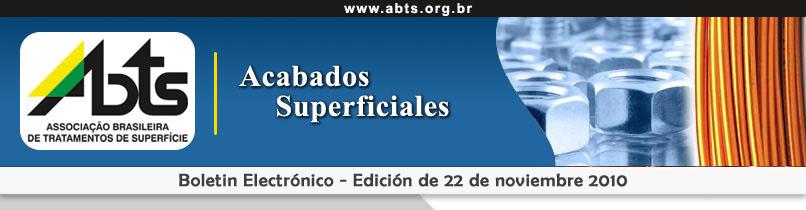 Boletin electrónico - Acabados Superficiales
