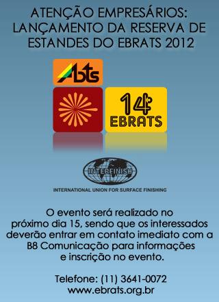 Lançamento EBRATS