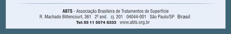 ABTS - Associação Brasileira de Tratamentos de Superfície