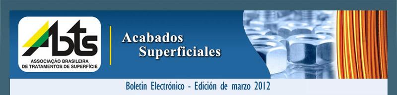 Boletin Acabados Superficiales - Edición de Octubre 2011