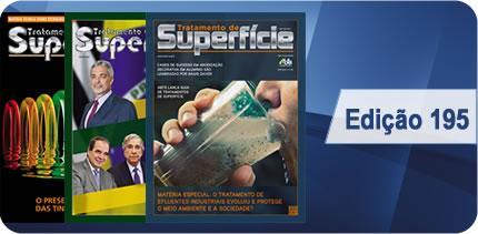 Revista Tratamento de Superfície - Edição 195